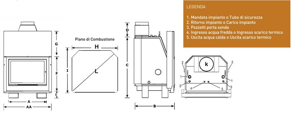 Misure impianto idraulico affordable misure impianto idraulico with misure impianto idraulico - Misure attacchi idraulici bagno ...